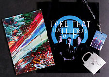 TAKE THAT * SIGNED III / LIVE 2015 PROGRAMME + VIP PACKAGE ITEMS * GARY BARLOW