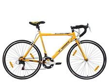 Tiger Pinnacle Gents 700c 14 Speed 56cm Frame Road Racing Bike Bicycle Yellow