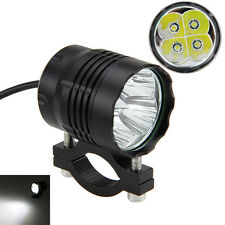 40W 4x XM-L T6 LED Motorcycle Headlight ATV Bike Spot Fog Light Driving Lamp
