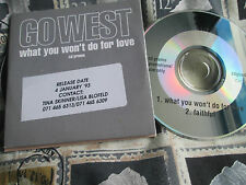 Go West – What You Won't Do For Love Promo Chrysalis – CDGOW10 CD Single