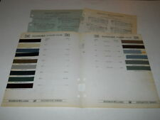 1941 OLDSMOBILE PAINT CHIP CHART COLORS SHERWIN WILLIAMS PLUS MORE