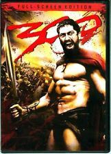 "DVD ""300"" Ancient Battle of Thermopylae Greek King Leonidas Persian King Xerxes"