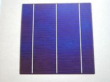 Single 6x6 solar cell .5 vlt x 8 amp (4 watts) ea. visually imperfect  good deal