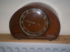 Fine art deco sonnerie mantle clock