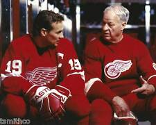 Gordie Howe Steve Yzerman NHL Hockey 8x10 Photo 003