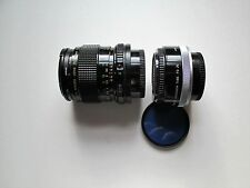 Canon FD 50 mm 1:3.5 Macro Lens with Extension Tube FD 25; A1 and 80A Filters