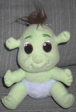 "Shrek Baby Boy Blue Diaper 6"" Green Ogre Dreamworks stuffed plush the Third"