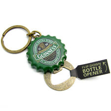 Guinness Ireland Collection Green Crown Cap Bottle Opener Keyring 5351