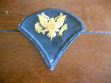 """Vintage Military Patch w/ Gold Eagle / About 3"""" x 3"""""""