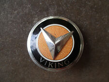 vintage 1930 Viking Automobile by GM radiator hood badge emblem RARE near MINT