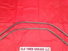 1970-74 Dodge Challenger Roof Rail Chrome Trim Moulding Weatherstrip E Body