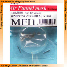 Model Factory Hiro 1/20 Air Funnel Mesh Set for 12 Cylinder Cars