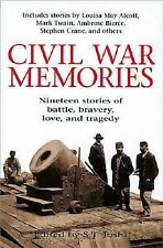 Civil War Memories: Nineteen stories of battle, bravery, love, and tragedy