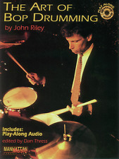 """THE ART OF BOP DRUMMING"" INSTRUCTIONAL MUSIC BOOK/CD-METHOD-DRUMS-NEW ON SALE!!"