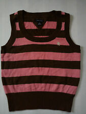 NICE TOMMY HILFIGER GIRL TOP VEST JUMPER SLEEVELESS 6/7 YRS (0.2)