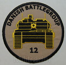 Denmark Danish ISAF Battle Group 12 Patch