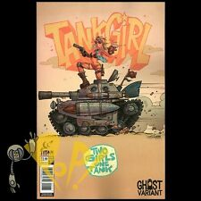 TANK GIRL 2 Girls 1 Tank #1 GHOST VARIANT Exclusive Cover TITAN Comics NM!