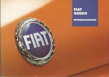 FIAT GINGO / PANDA Betriebsanleitung 2004 Bedienungsanleitung Handbuch BA