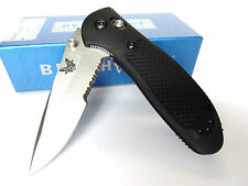 BENCHMADE KNIFE 551S GRIPTILIAN 154CM Drop-Point Folder - Axis Lock