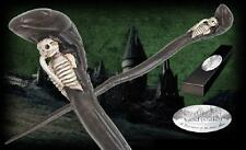 "Death Eater Wand (Snake) 15"" Skull Skeleton Harry Potter Movie w/ Name Plate NIB"