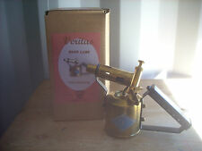 Vintage Brass Veritas Blow Lamp / Blow Torch