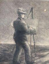 Iller Anton 1868-1939 Bad Salzschlirf Fulda; Cupido mit Pfeil rechts im Busch