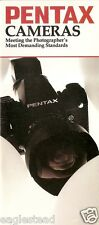 Camera Brochure - Pentax - LX Super Program A3000 et al Product Overview (CB100)