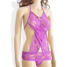 Lace Sexy Lingerie Nightwear Underwear Women's Dress G-string Babydoll Sleepwear