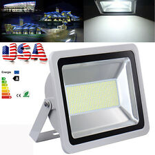 300W Watts Outdoor LED Wall Wash Flood light White High Power Spotlights 110V