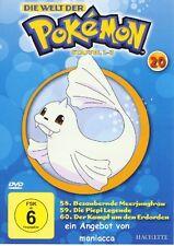 DIE WELT DER POKEMON 20   2. Staffel / 58-60    DVD #ZZ   Pokémon