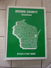 1983 4H BROWN COUNTY WISCONSIN LAND ATLAS AND PLAT BOOK UNUSED