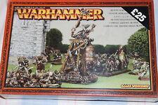Games workshop warhammer skaven screaming bell neuf new boxed fantasy metal oop