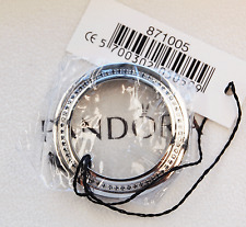 Pandora Imagine Watch Bezel  Interchangeable - 871005 Stainless Steel w Diamonds