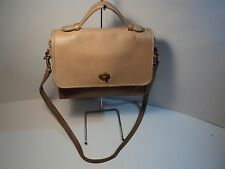 Coach #0192-242 Neutral Cross Body, Shoulder Bag, Made in USA, VINTAGE