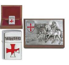 Zippo Feuerzeug Templer Limited Edition xxx/1000 in der Zippo Holz Box