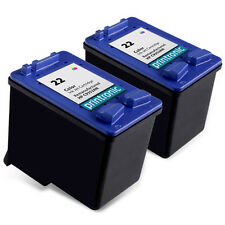 2 Pack Compatible for HP 22 (C9352AN)Color Ink Cartridge
