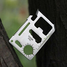 Multi Tools 11in1 Hunting Survival Camping Hiking Military Credit Card tools