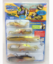 10 Ten x Mighty Bite Fishing Soft eels fish Lure kit 100 Pieces set wholesale.,-