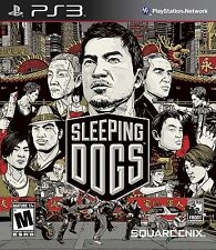 Sleeping Dogs Square Enix - Playstation 3 PS3  ****