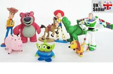 9 Pcs Set Toy Story 3 Buzz Lighter Woody Jessie t Figures set, Cake Toppers 9 CM