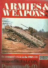 ARMES & WEAPONS N°05 FALCON / PANZERWAFFE (I) / THE ARMOURED VEHICLE IN THE 1980