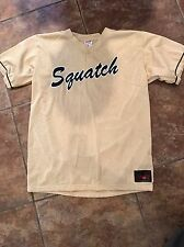 Rawlings Mens Gold and Black Squatch #24 Softball/ baseball Jersey Size L NEW