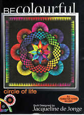 CIRCLE OF LIFE QUILTING PATTERN, Foundation Paper Piecing From Becolourful NEW
