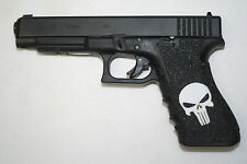 PUNISHER SKULL Inlay Gun Grip tape for pistol FITS 17 22 31 34 35 37 HANDGUN