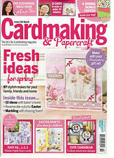 CARD MAKING & PAPERCRAFT,  MARCH, 2016   ISSUE, 154 ( THE UK'S CARDMAKING MAG