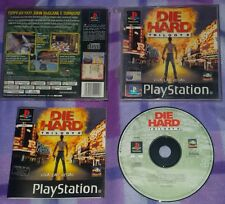 DIE HARD TRILOGY - PlayStation 1 PS1 Gioco Game Play Station PSX
