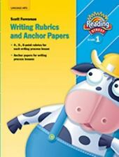 READING 2007 ANCHOR PAPER AND WRITING RUBRICS GRADE 1