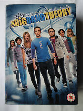 THE BIG BANG THEORY DVD COMPLETE 1 - 6 18 DISC BOX SET SHELDON PENNY GALECKI CUO