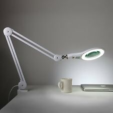 Brightech LightView PRO Super Bright 56 LED Magnifier Lamp Adjustable Swivel Arm