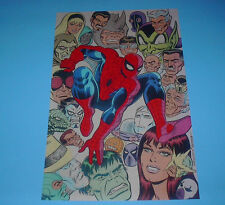 MARVEL HEROES SPIDER-MAN FRIENDS AND FOES POSTER PIN UP